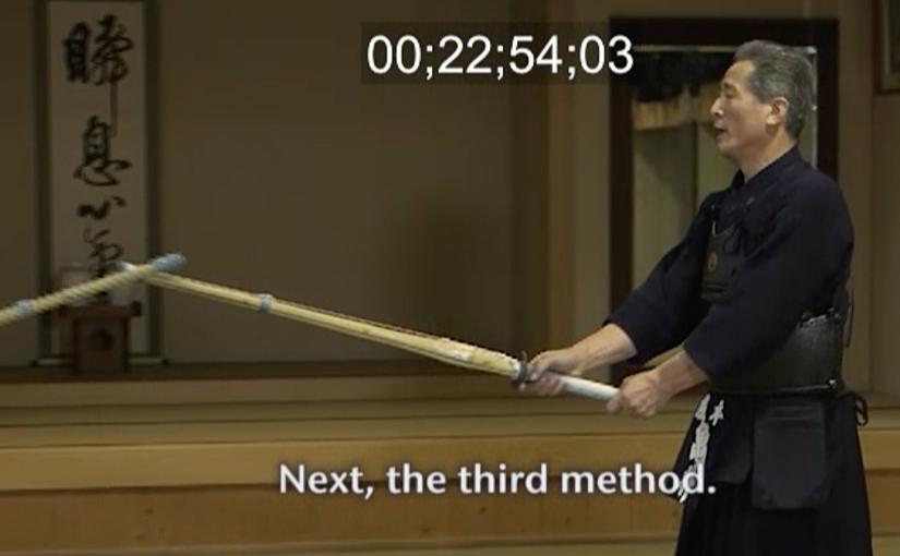 "<span class=""entry-title-primary"">Kamei Toru sensei's kendo lecture</span> <span class=""entry-subtitle"">亀井徹の剣道上達講座</span>"